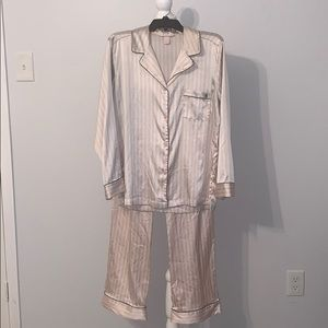 Victoria's Secret Button Down Shirt/Pant   Medium